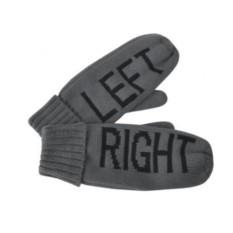 Мужские рукавицы Left&Right с теплой подкладкой