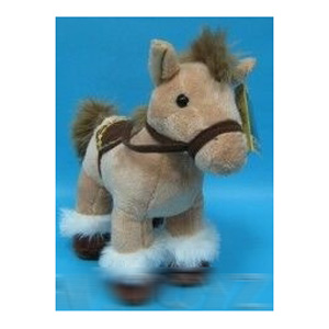 Лошадка бежевая