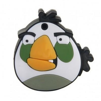 Флешка Angry Birds white, 8 гб.