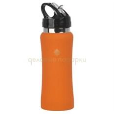 Оранжевая спортивная бутылка Индиана
