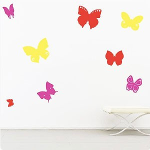Настенный стикер «Бабочки»