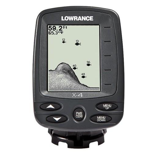 Эхолот для рыбалки Lowrance X-4 (работа до глубины 183 м)
