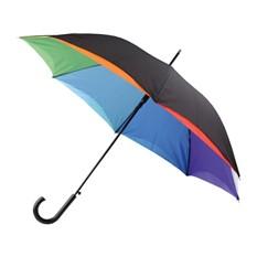 Зонт-трость «Радуга», полуавтоматический