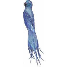 Коллекционное новогоднее украшение Попугай