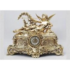 Часы из бронзы Муза