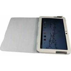 Кожаный белый чехол для планшета Samsung Galaxy tab 10.1