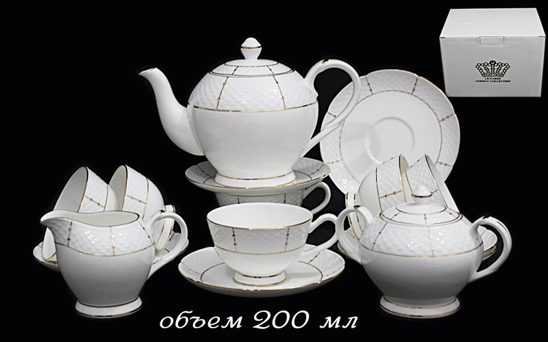 Чайный сервиз Президентский из 15 предметов