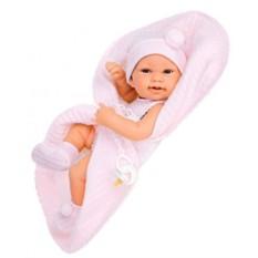 Кукла-младенец Лана в розовом