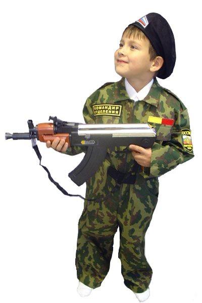 Карнавальный костюм  Спецназ, 6-10 лет