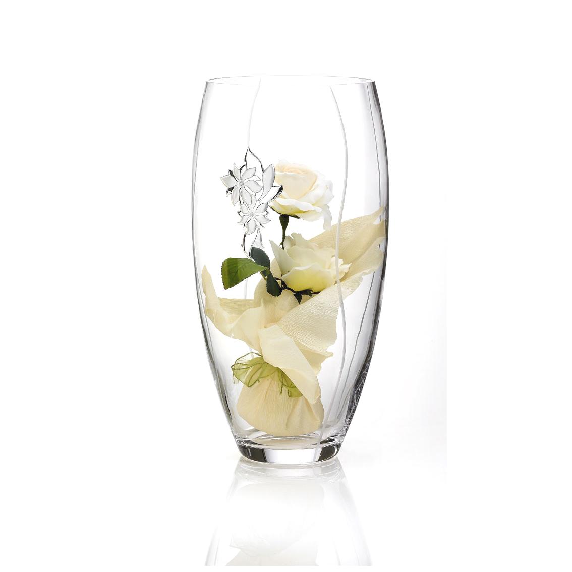 Хрустальная ваза Valenti
