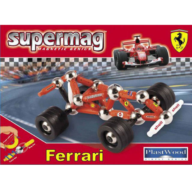 Магнитный конструктор Supermag «Маленькая Феррари»