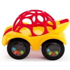 Игрушка-погремушка Oball Машинка (цвет: желтый)