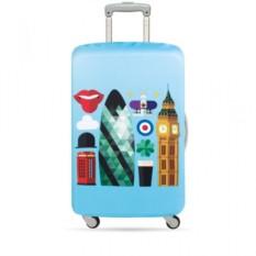 Чехол для чемодана LOQI Hey London М