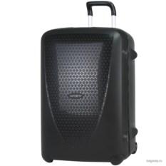 Чёрный чемодан Samsonite termo young размера L