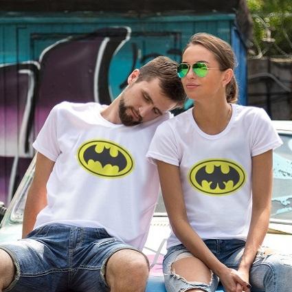 Парные футболки Бэтсемейка