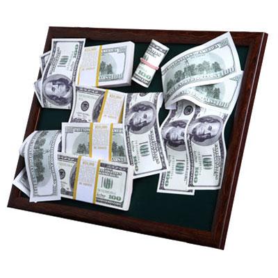 Коллаж «Доллары»