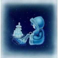 Картина Swarovski Морозко
