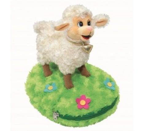 Игрушка овечка с конфетами Зелёная лужайка