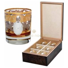Набор стаканов для виски Gold Line