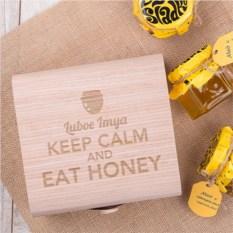 Подарочный набор мёда Keep calm, honey