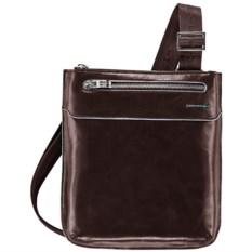Красно-коричневая сумка Piquadro Blue Square