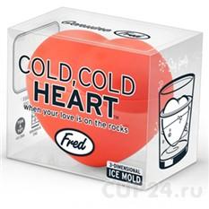 Формочка для льда Сердце 3d