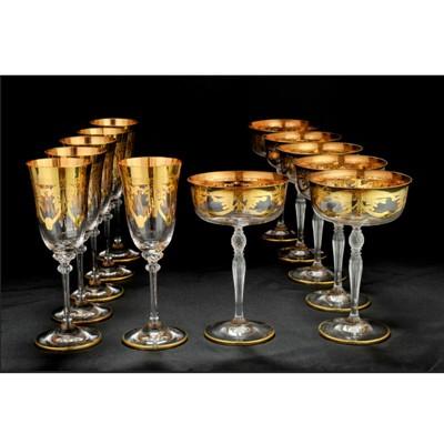 Набор бокалов для вина, шампанского
