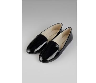 Женские лоферы Шайни, черные