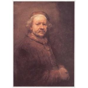 Репродукция картины Автопортрет Рембрандта