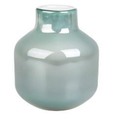 Мятно-белая ваза для цветов Лазурь