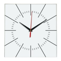 Настенные часы без цифр
