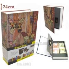 Книга-сейф с кодовым замком Butterfly (высота 24 см)