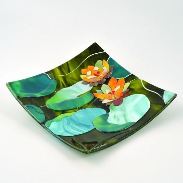 Блюдо Моне. Водяные лилии Sebino Arte