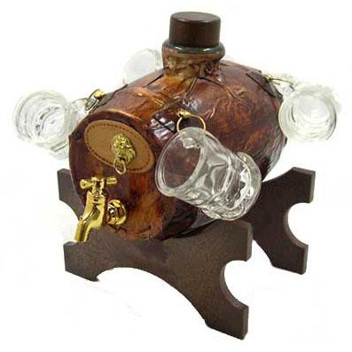 Подарочный набор для виски «Бочка»