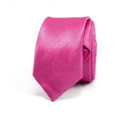Супер узкий галстук (розовый)