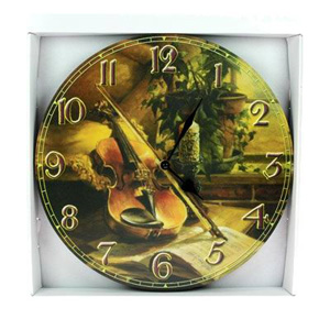 Часы-ретро «Скрипка»