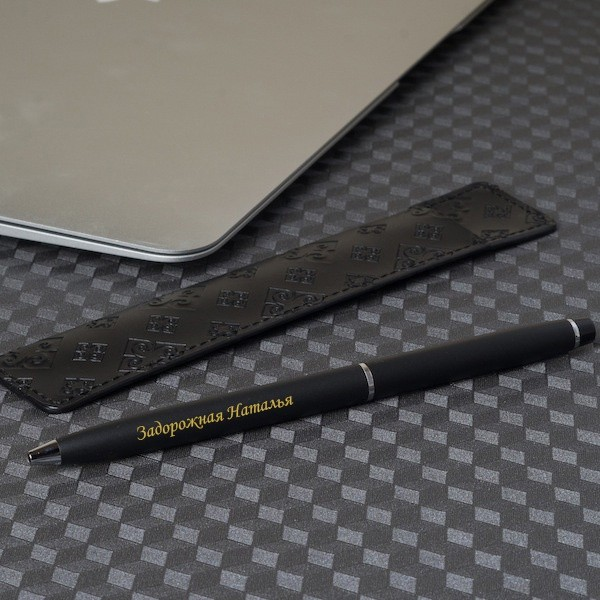 Ручка Pierre Cardin с гравировкой в чехле