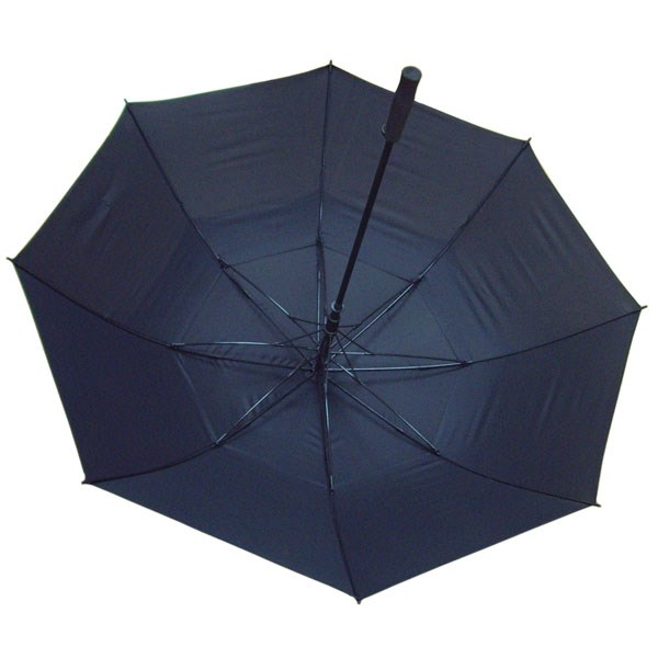 Зонт черный двойной