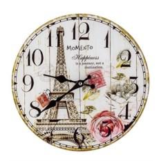 Настенные часы Романтика Парижа