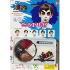 Набор красок для росписи лица «Вампир»