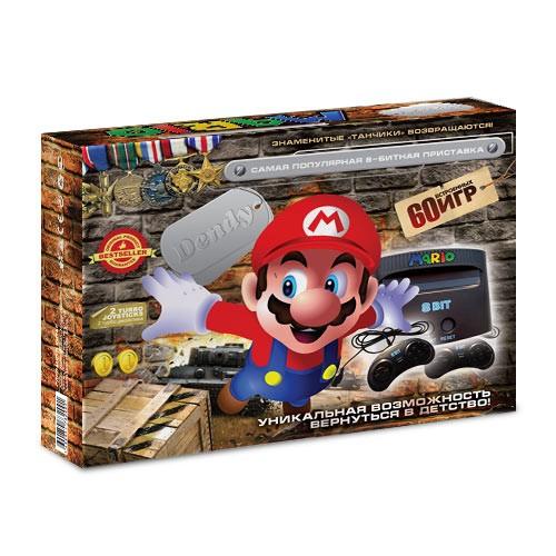 Приставка Dendy Mario, 60 игр