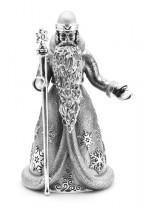 Колокольчик Дед Мороз, серебро