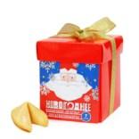 Печенье с новогодними предсказаниями от Деда мороза