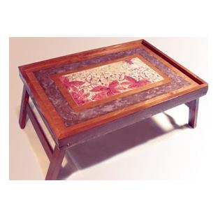 Столик для завтрака в постель «Лилии»