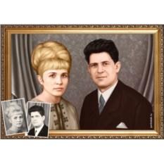 Портрет из прошлого – оригинальный подарок