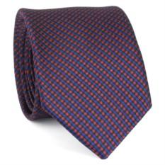 Узкий галстук (клетчатый)