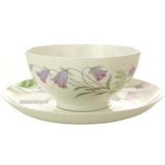 Чашка с блюдцем Полевые цветы