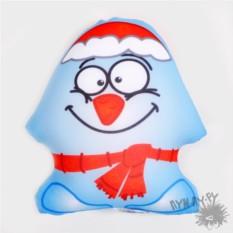 Игрушка-антистресс Снеговик
