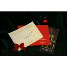Корпоративный подарок (сертификат на пошив одежды)
