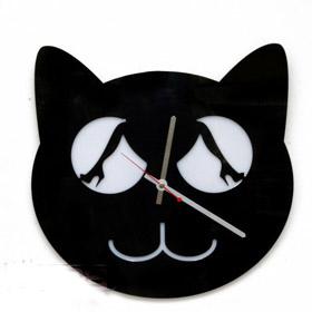 Часы настенные Киска